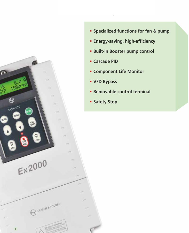 EX2000 Ac Drive Description